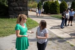 Senator Lindsey Williams and staff tour the Aspinwall Riverfront Park and Kayak Pittsburgh