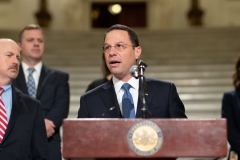 Senator Lindsey M. Williams joins House Republicans and AG Josh Shapiro to Announce Commonwealth Fraud Prevention Act