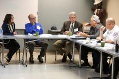 October 6, 2019: Senator Williams hosts EMS Legislative Roundtable.