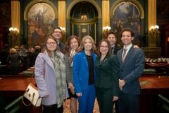 January 15, 2018: Senator Lindsey Williams serves on the  escort committee for swearing in ceremony of  Gov. Tom Wolf & Lt. Gov. John Fetterman.