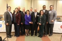 March 14, 2019: Senator Lindsey Williams  attends the Allegheny Intermediate Unit's (AIU) annual Allegheny County Legislative Forum on Education. Legislators were asked tough questions about the state of public education.