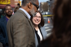 April 2, 2019: As a tribute to the legacy of the Rev. Dr. Martin Luther King Jr. and his fight for poor and working people, Senator Lindsey Williams joined members of the Pennsylvania Senate Democratic Caucus in the launch of a 30-day campaign to address poverty and economic insecurity in the commonwealth.