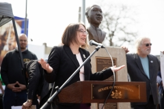 April 4, 2019: As a tribute to the legacy of the Rev. Dr. Martin Luther King Jr. and his fight for poor and working people, Senator Lindsey Williams joined members of the Pennsylvania Senate Democratic Caucus in the launch of a 30-day campaign to address poverty and economic insecurity in the commonwealth.