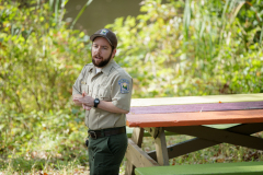 October 2, 2021: Senator Williams hosted a Nature Walk at the Latodami Nature Center in North Park for a conversation with the North Park Naturalists, and Allegheny County Park Rangers.