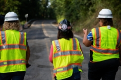 August 15, 2019: Senator Lindsey Williams tours District 38 with PennDOT to view various projects around the district.