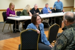 January 25, 2019: Senator Lindsey Williams and Representative Sara Innamorato co-host a REAL ID Workshop at the Millvale Community Center.