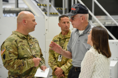 Senator Lindsey Williams Tours Ft. Indiantown GAP with Veterans Affairs and Emergency Preparedness Committee :: July 27, 2021
