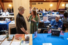May 10, 2019:  Senator Lindsey M. Williams hosts her Spring Senior Resource Fair  at the Springdale Veterans' Association Banquet Hall in Springdale. More than 30 vendors were available during the event to meet with seniors and discuss services available to them