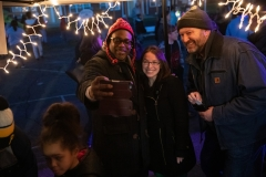 December 19, 2018: Senator-Elect Lindsey Williams attends Natrona Heights Christmas Party.