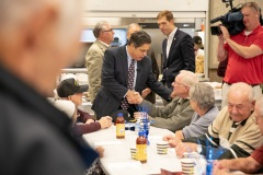 November 8, 2019: Senator Lindsey Williams attends luncheon to honor veterans.