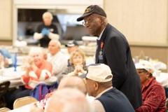 November 8, 2019: Senator Lindsey Williams attends luncheon to honor veterans.