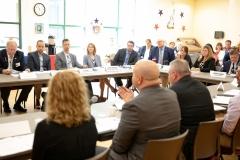 September 3, 2019; Senator Williams participates in Veterans' Roundtable discussion on suicide prevention.