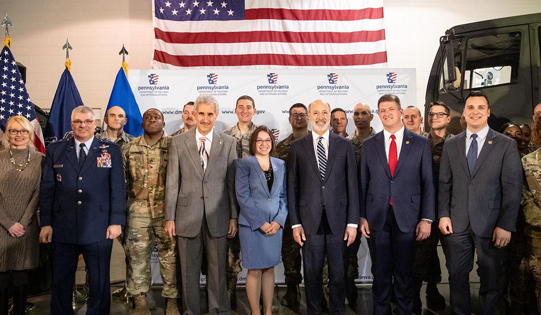 Senator Williams Prime Sponsor of Landmark Education Program to Support PA National Guard Members Families