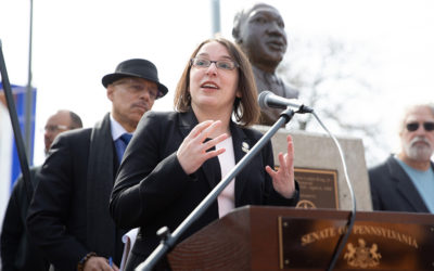 Sens. Hughes, Haywood, Williams and Street make call action addressing poverty and  economic security in honor of the Rev. Dr. Martin Luther King Jr.