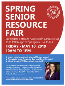 Spring Senior Resource Fair - May 2019