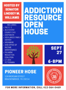 Addiction Resource Open House