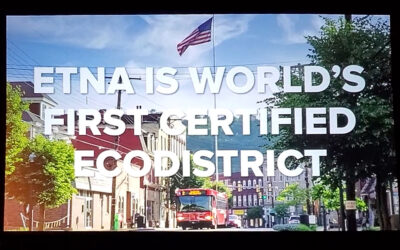 Etna EcoDistrict Wins Governor's Award for Environmental Excellence