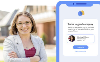 "Senator Lindsey M. Williams Joins Constituent Contact App Called ""Be The Change""; Now Available Free on Apple App Store and Web"