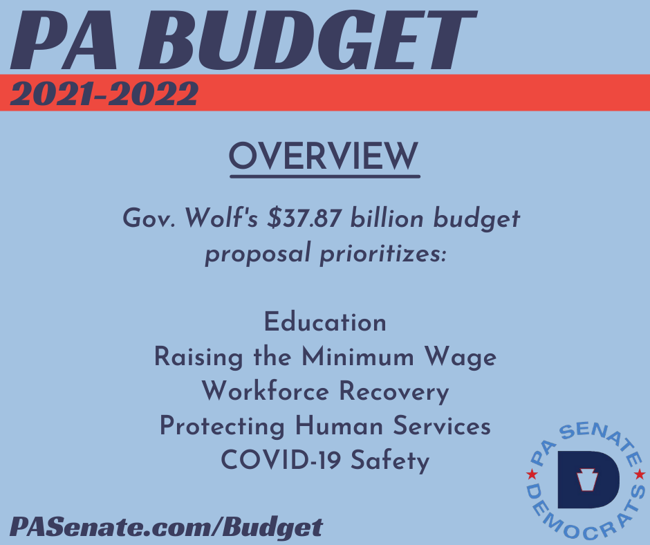 PA Budget 2021-2022 - Overview