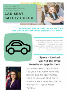 Child Safety Seat Check Event