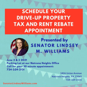 """""""Drive-up"""" Property Tax or Rent Rebate Event!"""