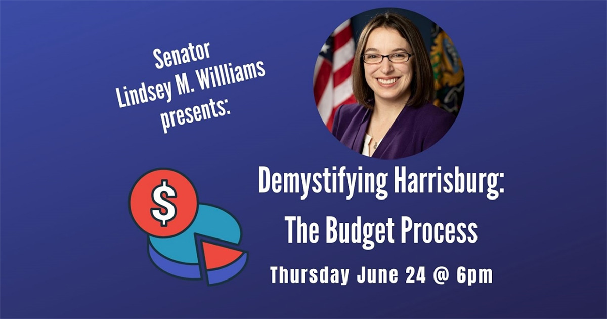 Demystifying Harrisburg - The Budget Process