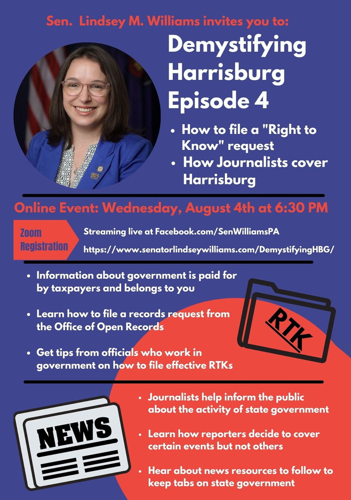Demystifying Harrisburg: Right to Know and Media Coverage